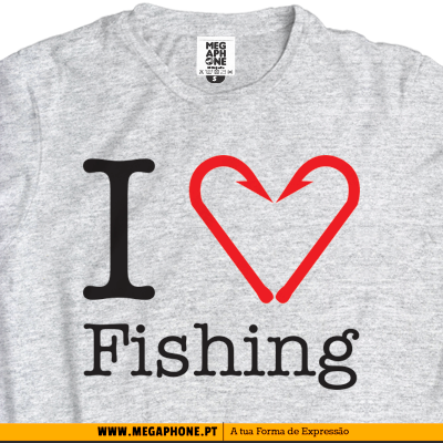 I Love fishing tshirt
