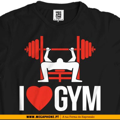 I love Gym tshirt