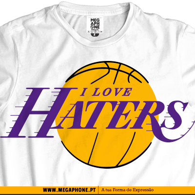 Lakers love haters shirt