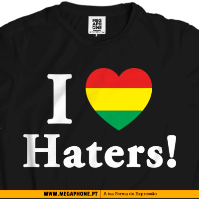 Love Haters Jamaica tshirt