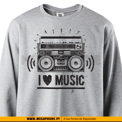 Radio I love Music shirt