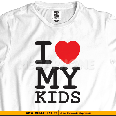 Ny I love my kids shirt mae pai