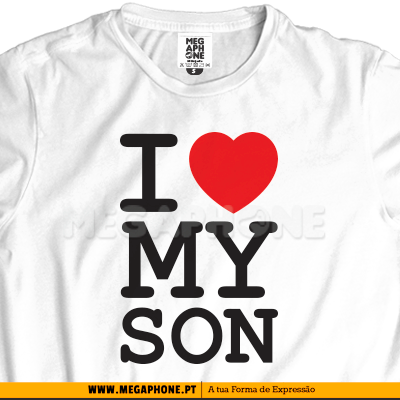 Ny I love my son shirt mae pai