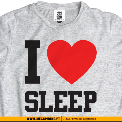 I love sleep tshirt