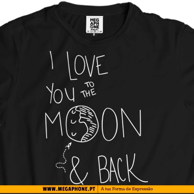 I love you moon and back
