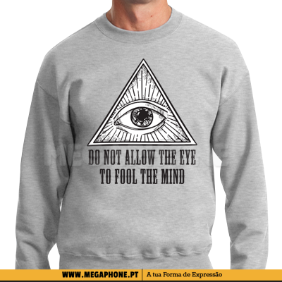 Do not allow the eye illuminati shirt