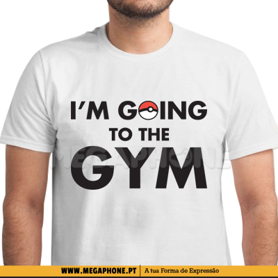 Im going to the gym shirt pokemon