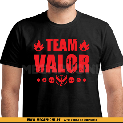 IMPACT VALOR EQUIPA SHIRT POKEMON GO