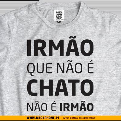 irmao chato tshirt   megaphone   loja online de t shirts