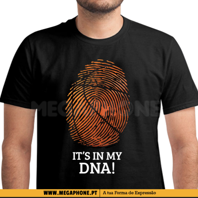 Its my DNA basquete shirt