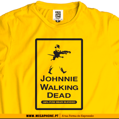 Johnnie Walking Dead T-shirt