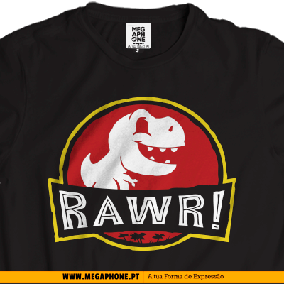 Rawr Jurrasic Park shirt