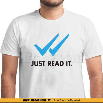 Just read it shirt