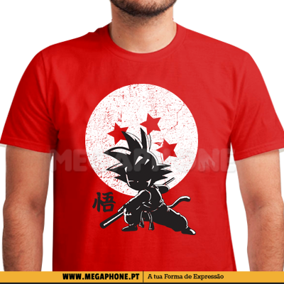Kid goku dragonball shirt