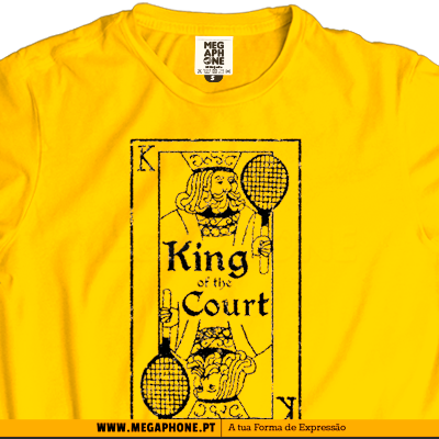 King court shirt tennis tenis