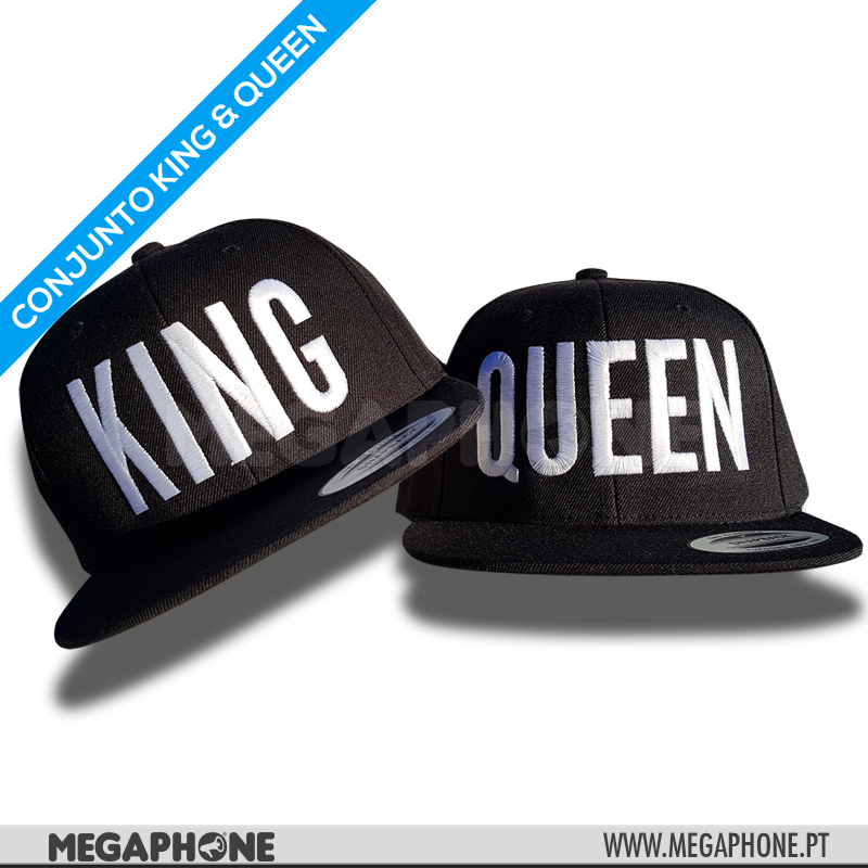 Conjunto KING & QUEEN White