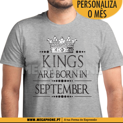 Kings Crown are Born Shirt