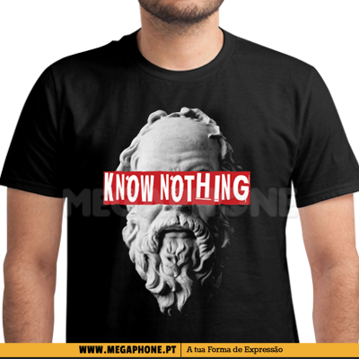 Socrates Know Nothing Shirt