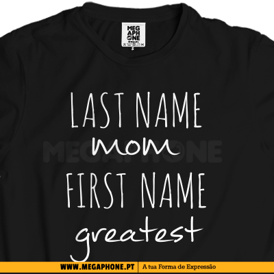 Last name mom shirt dia mae