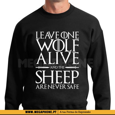 Leave one wolf alive got shirt