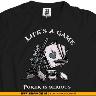 Poker is a life tshirt