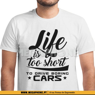 Boring cars shirt