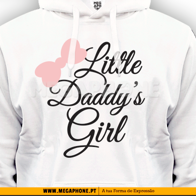 Little Daddys Girl shirt dia pai