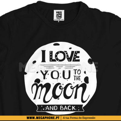 Moon and back shirt