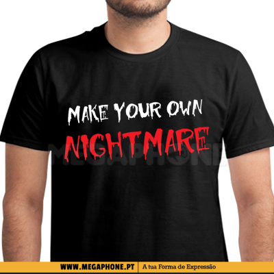 Make your own nightmare shirt