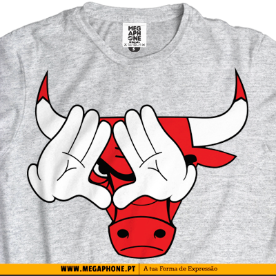 Maos chicago bulls mickey shirt