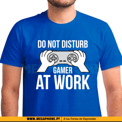 Do Not Disturb Gamer Shirt
