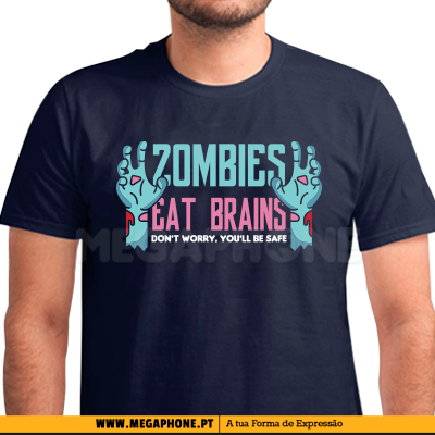 Zombies eat brains shirt
