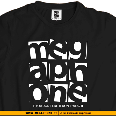 Megaphone wear it t-shirt