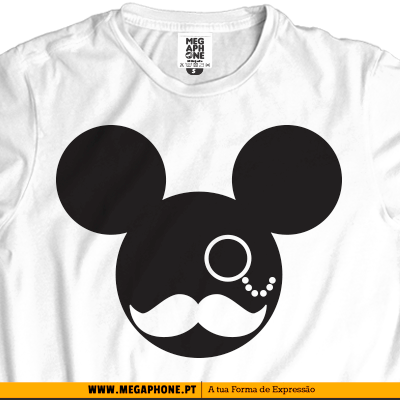 Moustache Mickey t-shirt