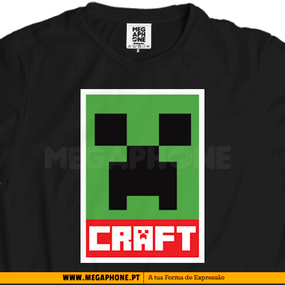 Minecraft shirt gamers