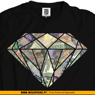 Money diamond tshirt