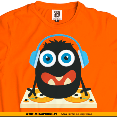 Dj monster shirt
