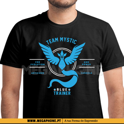 Trainer Mystic shirt pokemon go