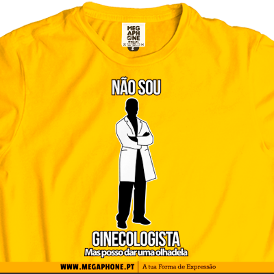 Ginecologista t-shirt