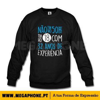 Nao tenho 50 anos shirt - Megaphone - Loja Online de T-Shirts d1ece60197d64