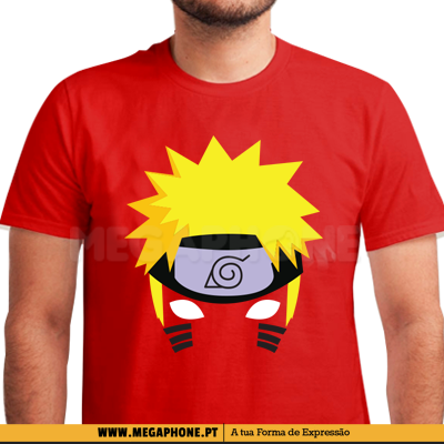 Naruto hair shirt