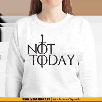 Not Today Game Of Thrones Megaphone Loja Online De T Shirts Personalizadas