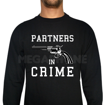 Partners in crime ri shirt