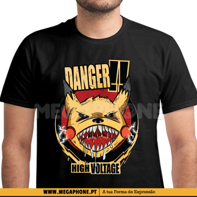 Danger pikachu shirt