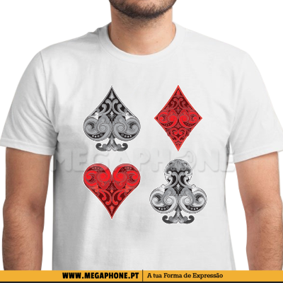 Poker ornamental shirt
