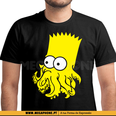 Polvo Bart Simpson shirt