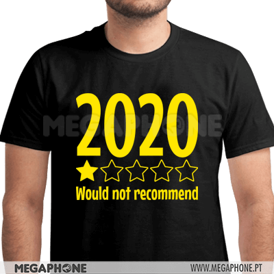 2020 Not recommend shirt