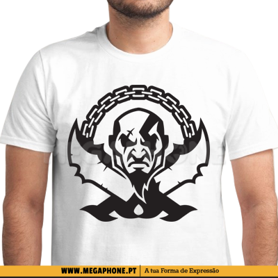 Correntes Kratos GoW Shirt