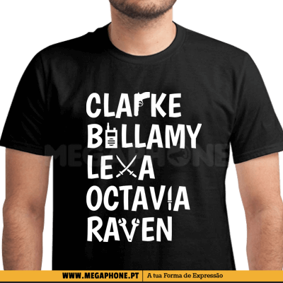 Clarke Billamy Lexa Shirt