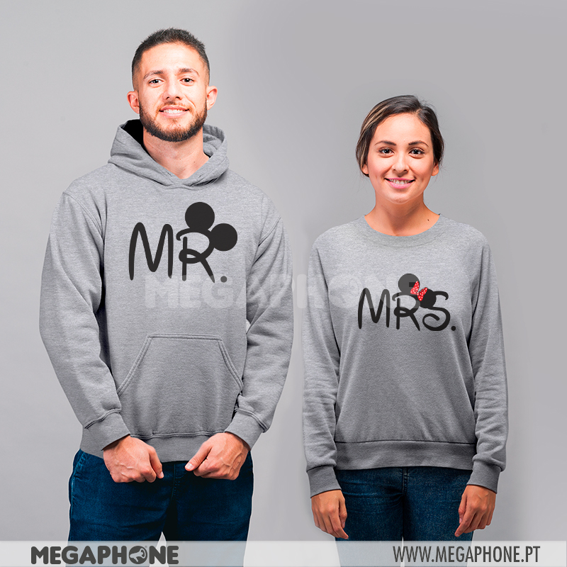 Conjunto Mr Mickey - Mrs Minnie